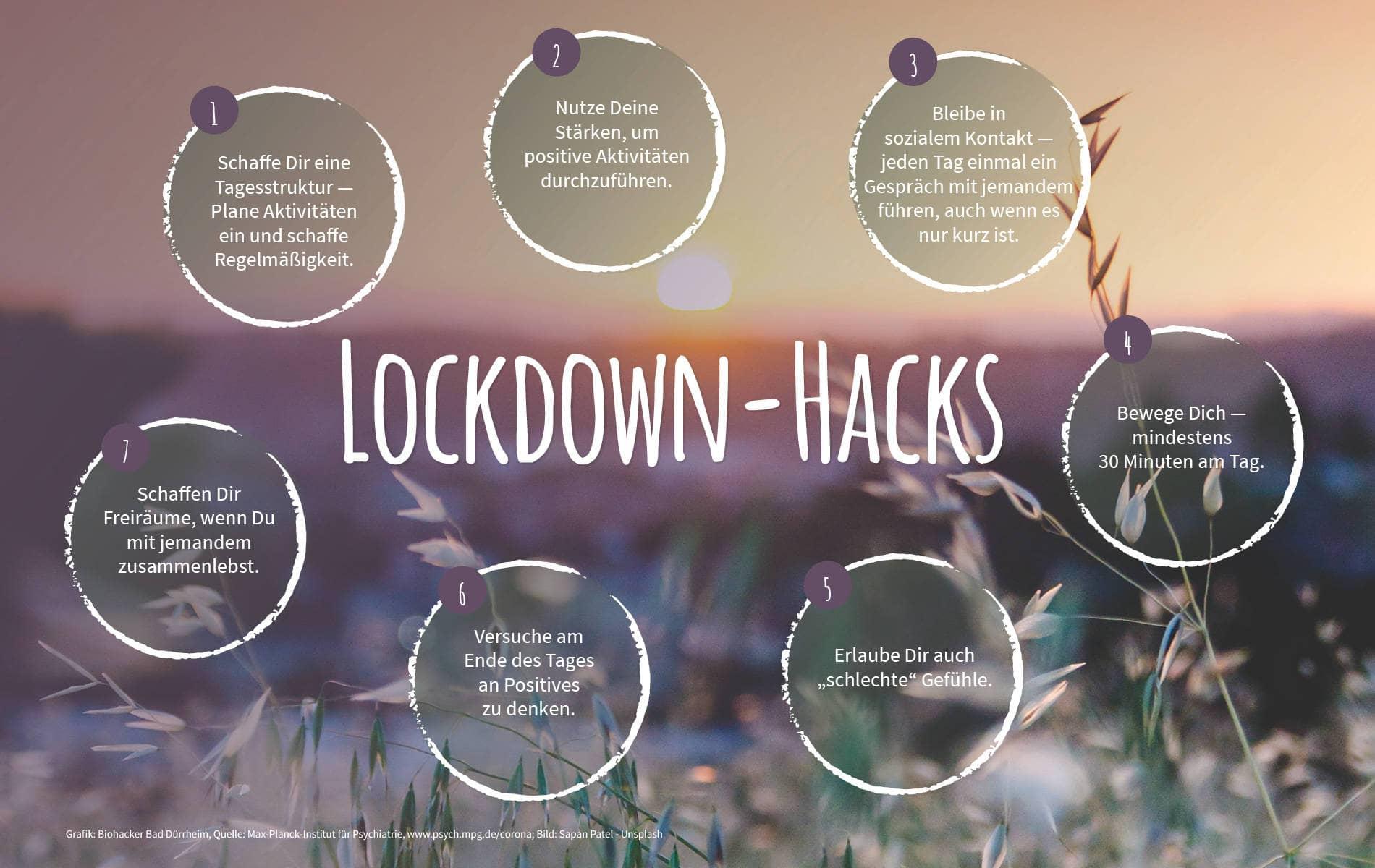 Stärke dein Wohlbefinden mit unseren Lockdown-Inspirationen - Biohacking Bad Dürrheim